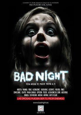 Posters / Carátulas de sorprendente parecido Bad-night