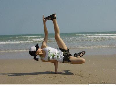 Girl xinh nhảy hip hop