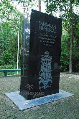Sandakan Memorial Plaque Sabah