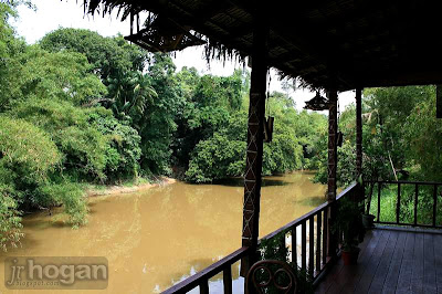 Monsopiad Moyok river