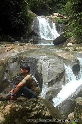 Waterfalls at Gunung Gading National Park