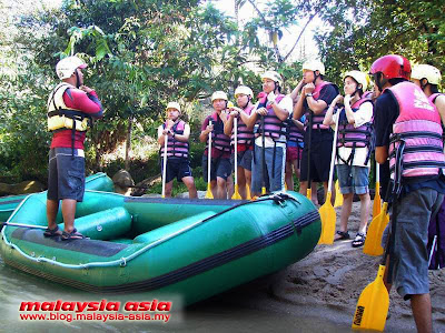 Kampar White Water Rafting Perak