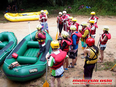 Slim River White Water Rafting Perak