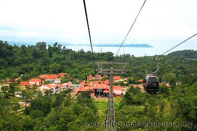 Langkawi Cable Car Ride Malaysia Asia