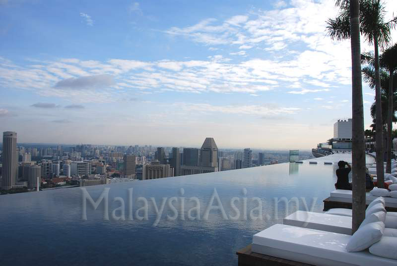 marina bay sands. Sands SkyPark at Marina Bay