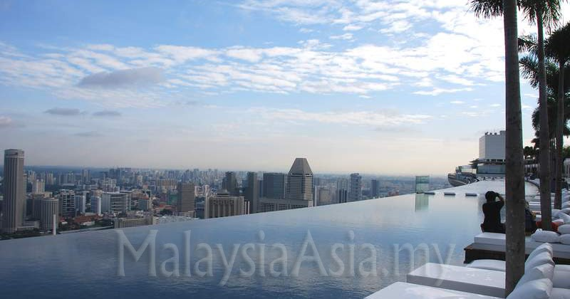 Sands Skypark At Marina Bay Sands Singapore Malaysia Asia