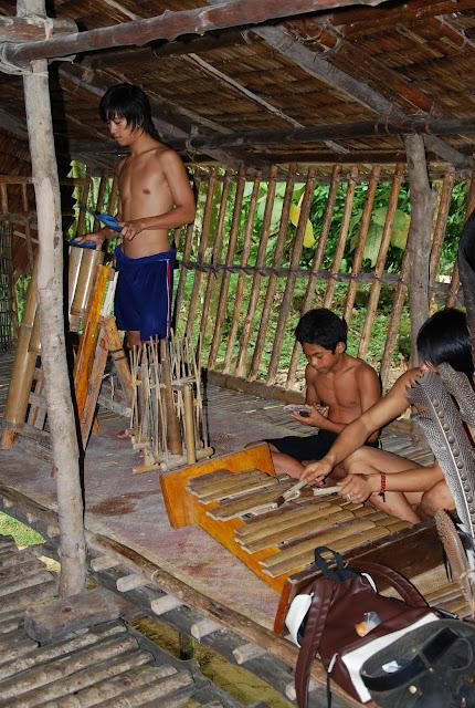 Rungus Bamboo Musical Instruments