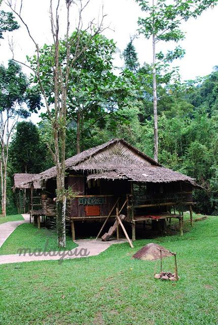 Lundayeh House Sabah