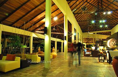 Rebak Island Resort main lobby