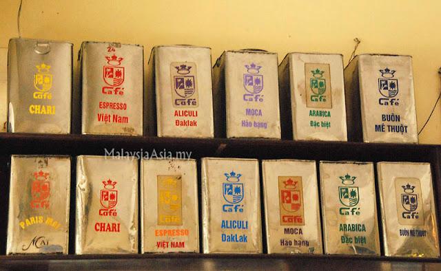 Vietnamese coffee types