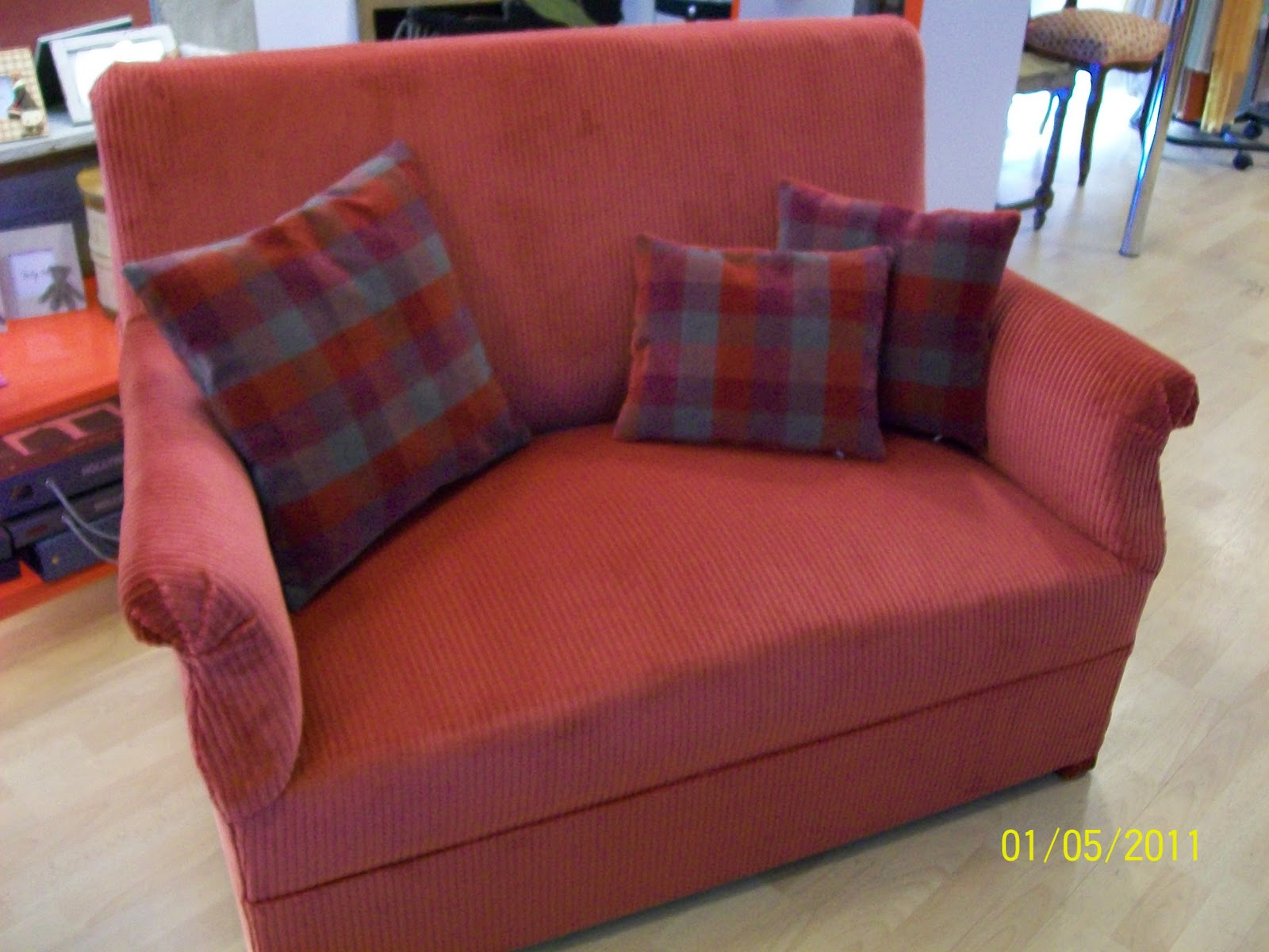 L 39 canap confort for Recouvrir canape tissu
