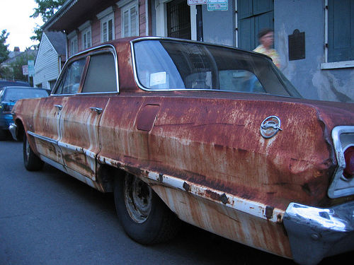 Maintain your car body rust