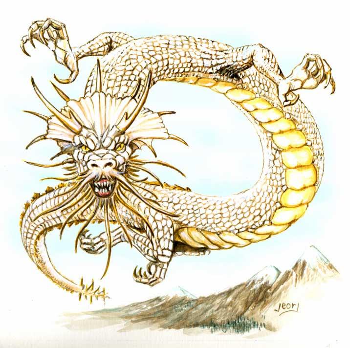 Japanese Dragons Mythology