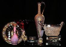19th Century Art Glass Italian and Facon de Venise