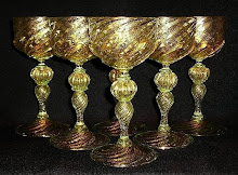 19th - Early 20th C. Venetian Goblets