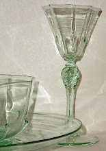 3-Pc. 19th C Venetian Glass