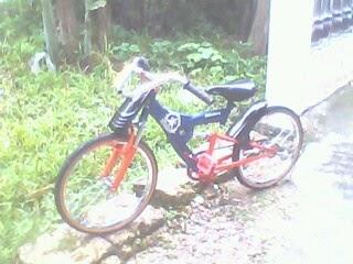 modifikasi ontel: modifikasi sepeda ontel