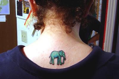 pink elephant tattoo pics