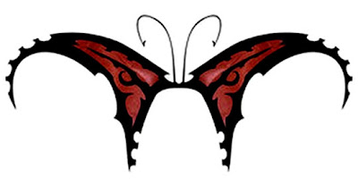 tribal butterfly tattoo images