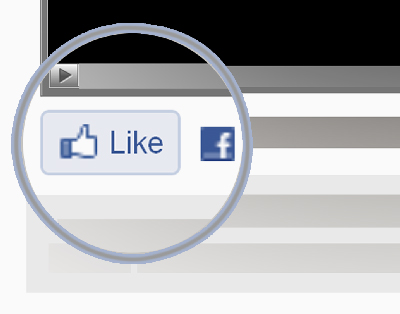 facebook like button image. Click on the quot;LIKEquot; utton and