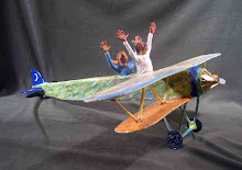 We also teach classes on making wonderful airplanes like this one!!