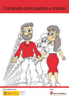 Guía Práctica Creciendo como Padres y Madres  (Pincha en la foto para leer la guia)