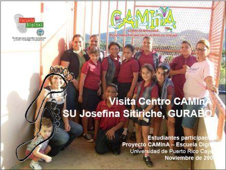 Centro CAMInA JOSEFINA SITIRICHE