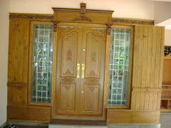 Front Door with panelling