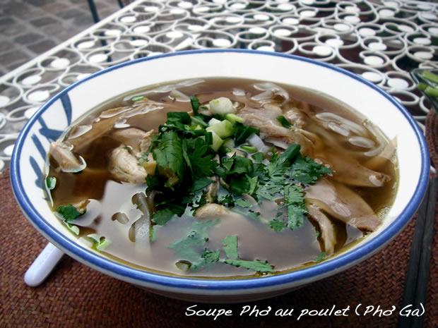 Soupe Pho au Poulet