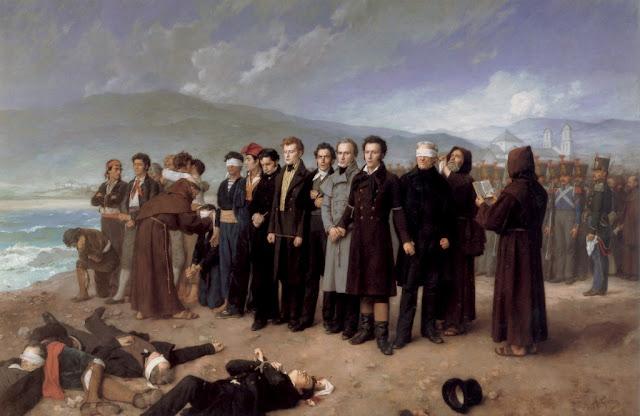 Fusilamiento de Torrijos en playa de San Andrés (Málaga) Museo del Prado