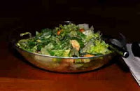 Croutons on Salad