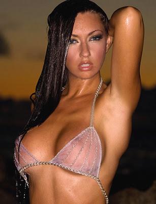 Chloe Kalin in Sexy See Through Bikini- 13 pics