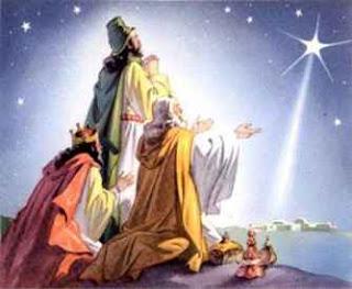 Estrela cadente do Natal