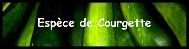 Espèce de Courgette