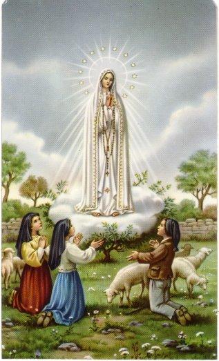 Oracao a Nossa Senhora do Fatima