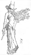 Dibujos en lápiz. 2 fantasías del personaje Cenit para seguir soñando con . cenit cowboy