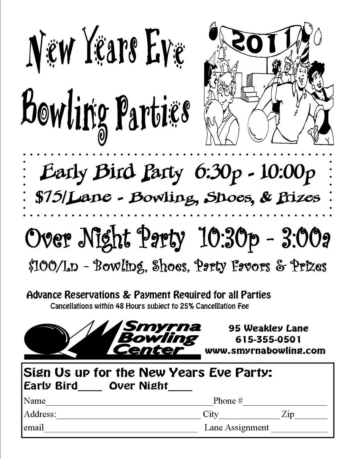 Smyrna Bowling Center