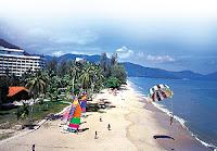 Batu Ferringhi beach