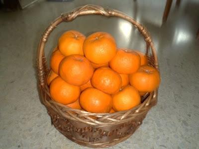 Mandarin oranges or