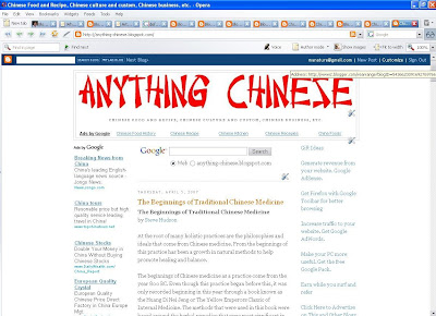 Anything Chinese 1