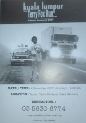 Kuala Lumpur Terry Fox Run