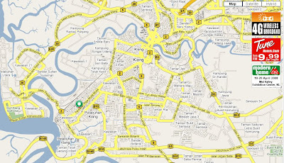 Map to Persiaran Raja Muda Musa, Pandamaran, Klang