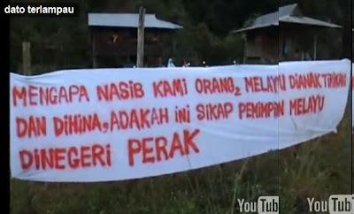 Datuk Melampau Perak Banner 2