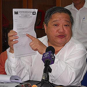 Dr Lee Chong Meng - Dr Ayam or doctor of prostitutes