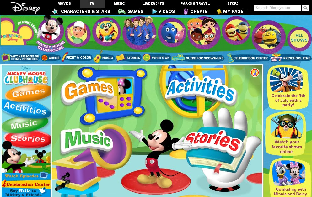 disney channel play games online playhouse disney disney
