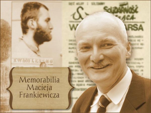Memorabilia Macieja Frankiewicza