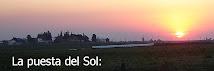La puesta del sol en nuestra región