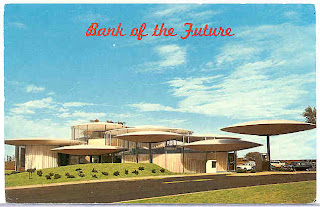 Oklahoma City's Bank of the Future postcard