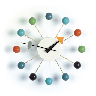 The Nelson Ball Clock- designed in 1948.