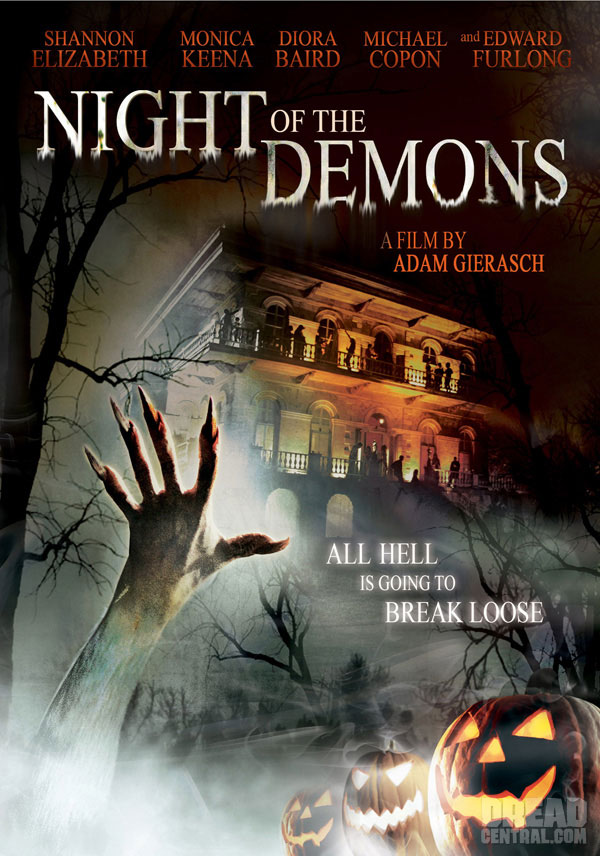 The Night Of Demons La Noche De Los Demonios Dvd R Ntsc Audio